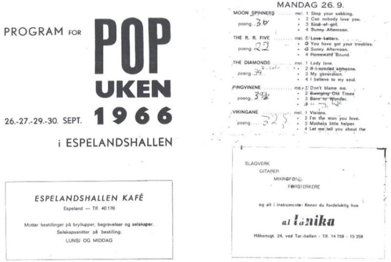 Program for Popuken 1966